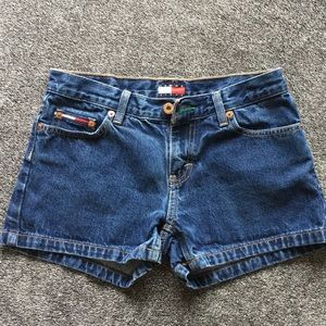 Tommy Hilfiger Jean Shorts Dark Wash Sz 3